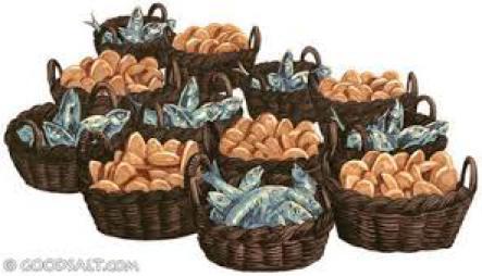 Image result for 12 baskets left over